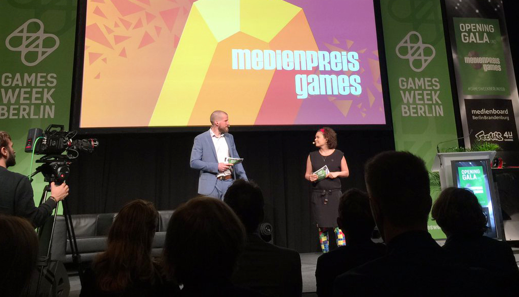 gamesweekberlin: Opening Gala + Medienpreis Games